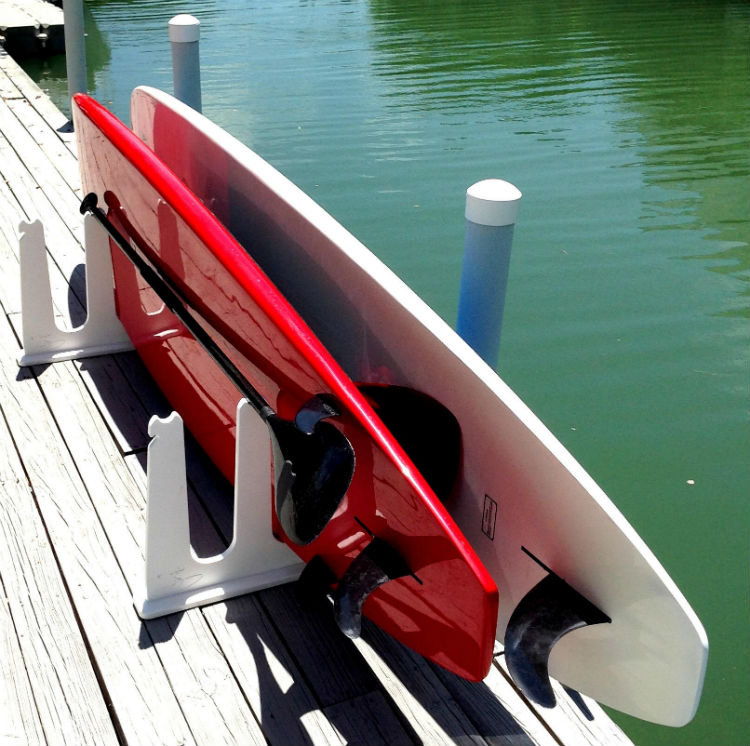 Outdoor Sup Racks Rust Resistant Paddleboard Storage