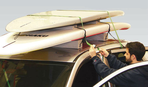 Once Your Surfboards Are Ready To Go It S Time Attach Surfboard Roof Rack Car Depending On System This Will Mean Diffe